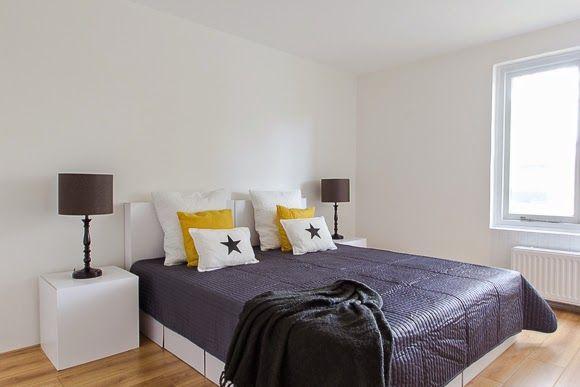 Bed Van Karton : Binnenkijker uitpondproject in zoetermeer slaapkamer met een bed