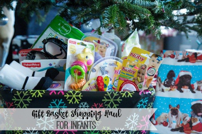 Gift Basket Shopping Haul For Babies. I shopped at @biglots for everything in this basket! #BIGDeal [ad]