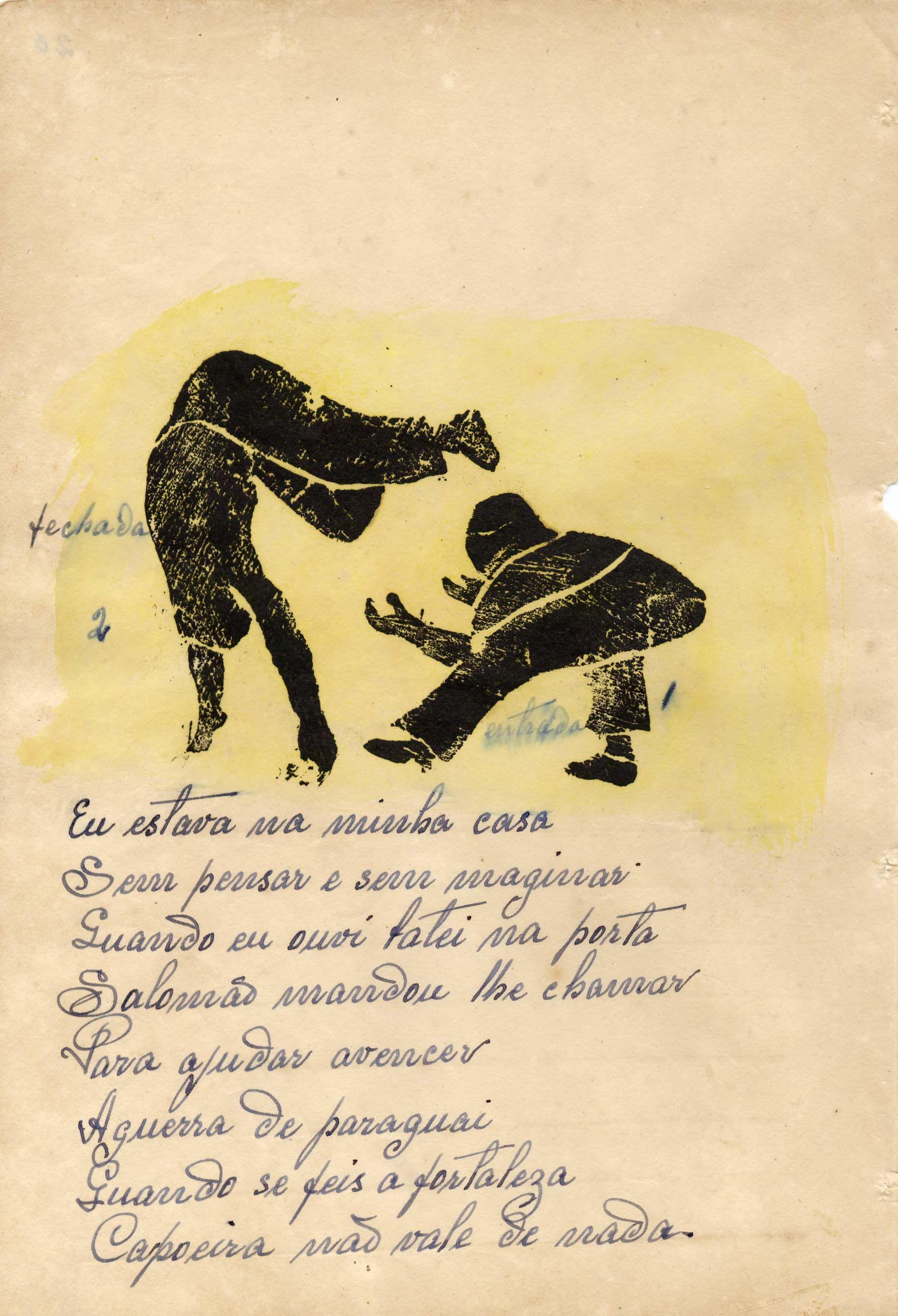 Os Manuscritos Do Mestre Pastinha 004desenho26 Arte