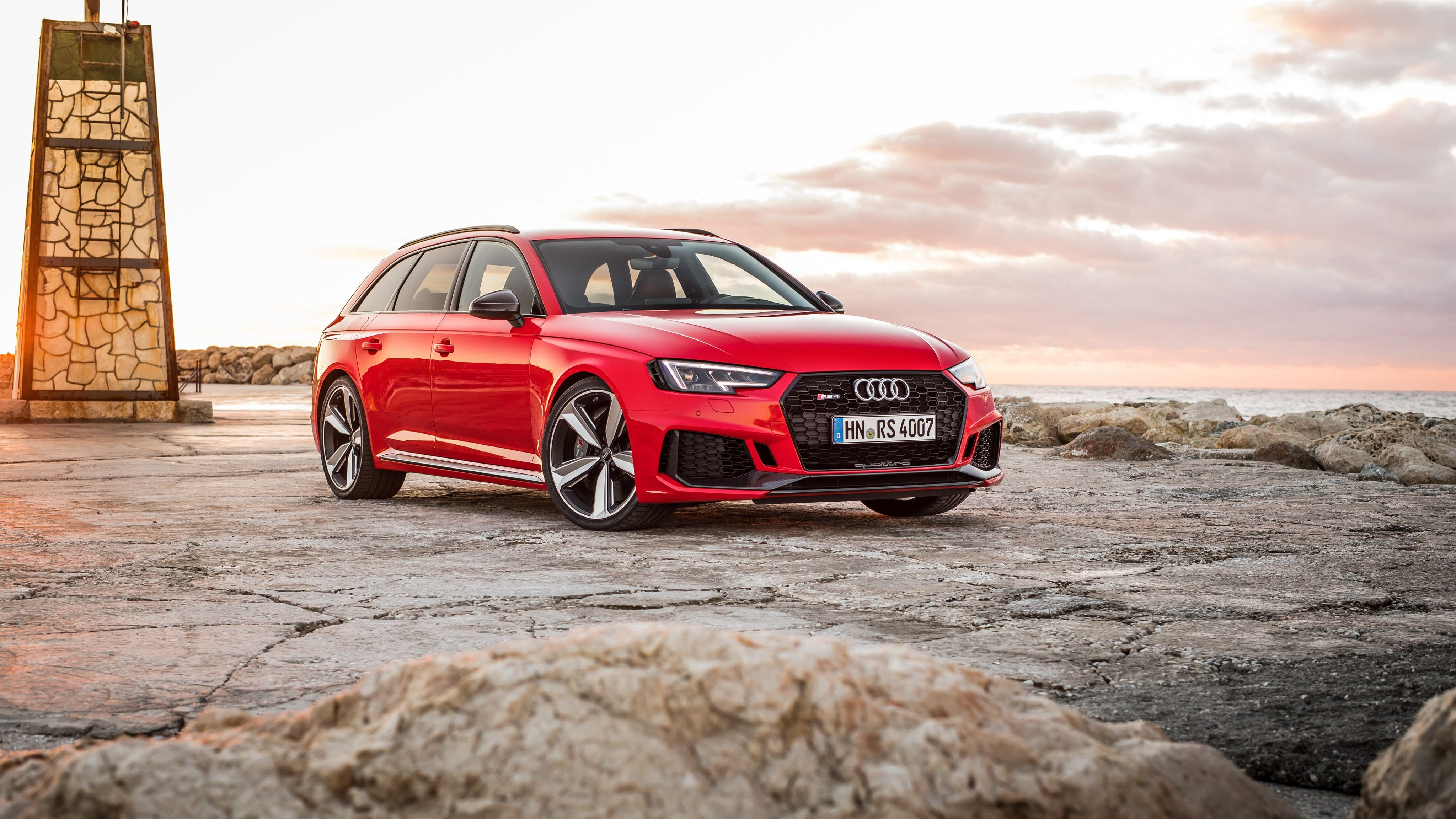 Red Audi Avant 2018 4k Red Audi Avant 2018 4k Is An Hd Desktop Wallpaper Posted In Our Free Image Collection Of Awesome Wal Audi Rs4 Avant Audi Rs4 Rs4 Avant