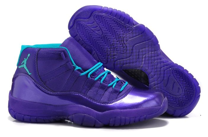 nike air jordan xi 11 retro mens shoes new releases deep purple sky