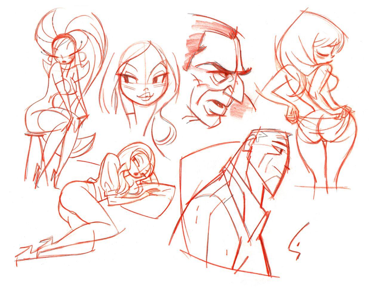 Character Design Art Books : Comic book artist shane glines abduzeedo design