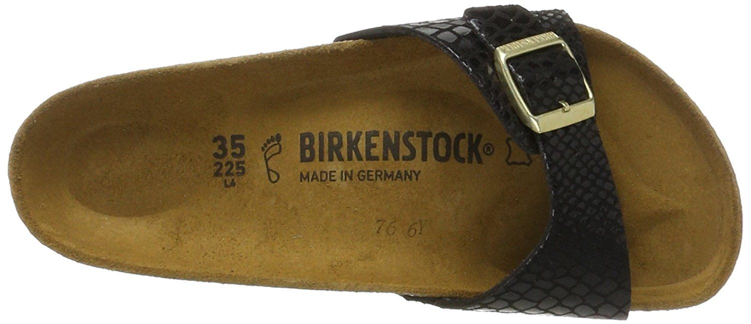 01506747363cf Birkenstock MADRID Ladies Mule Buckle Sandals Snake Black   You can get  additional details at the