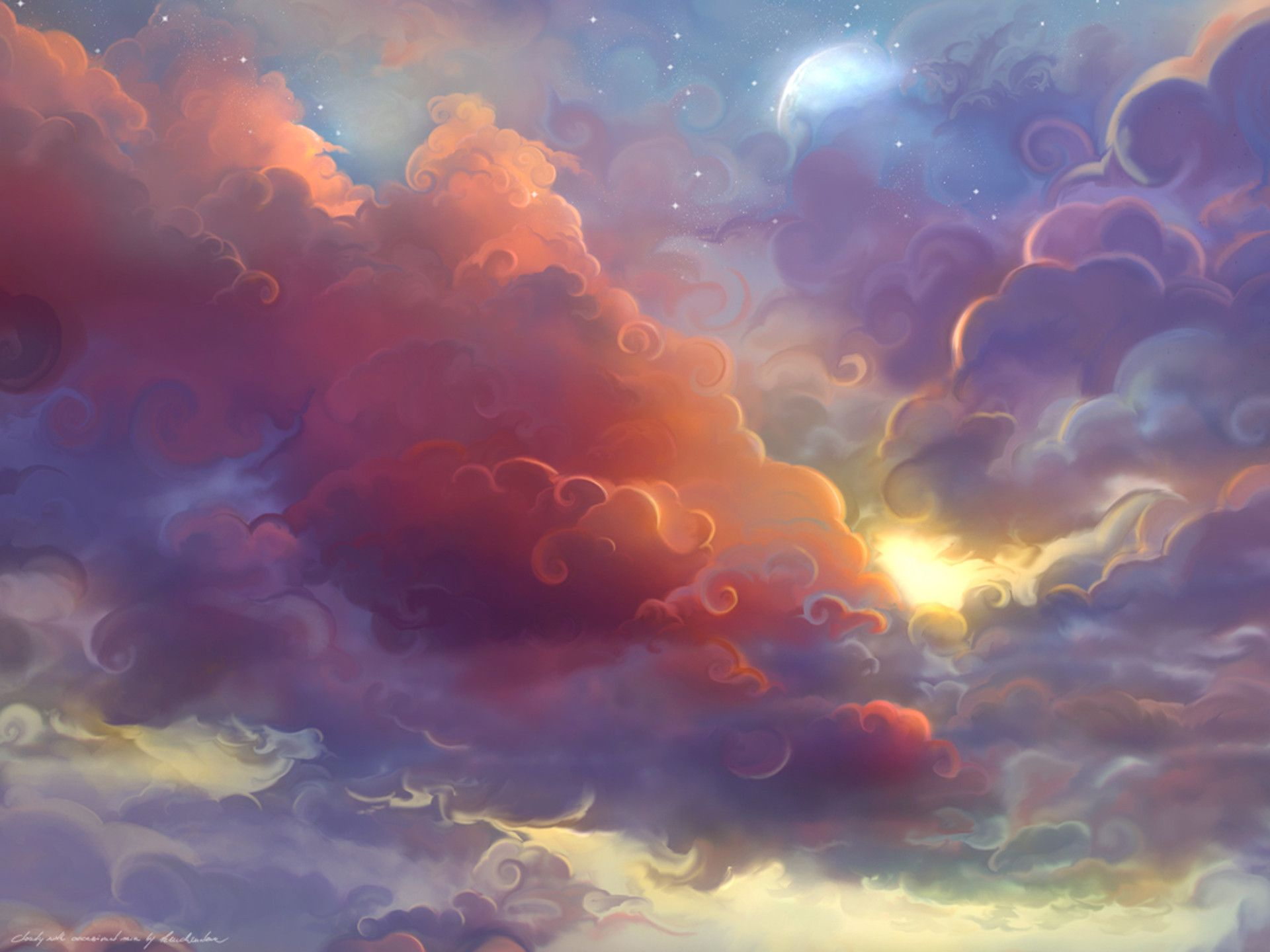 Pin by Emma Smith on Low Poly and Handpainted Clouds