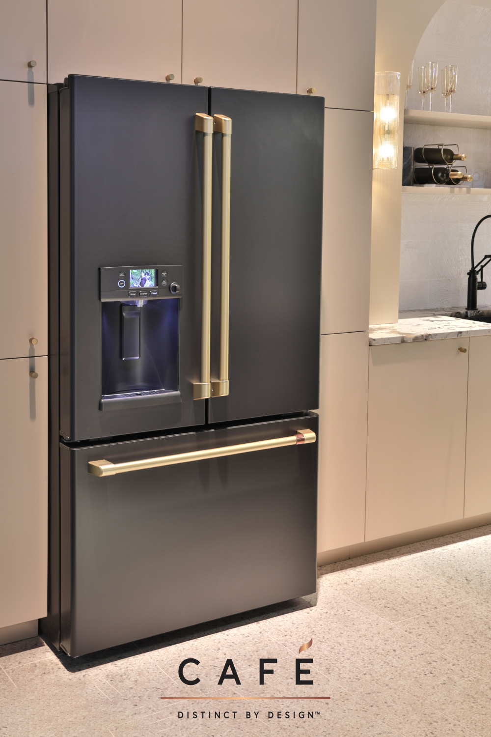 Our Cafe Matte Black Appliances Offer A Sleek Bold Look To Fit Your Style In 2020 Professional Kitchen Appliances Black Appliances Matte Black