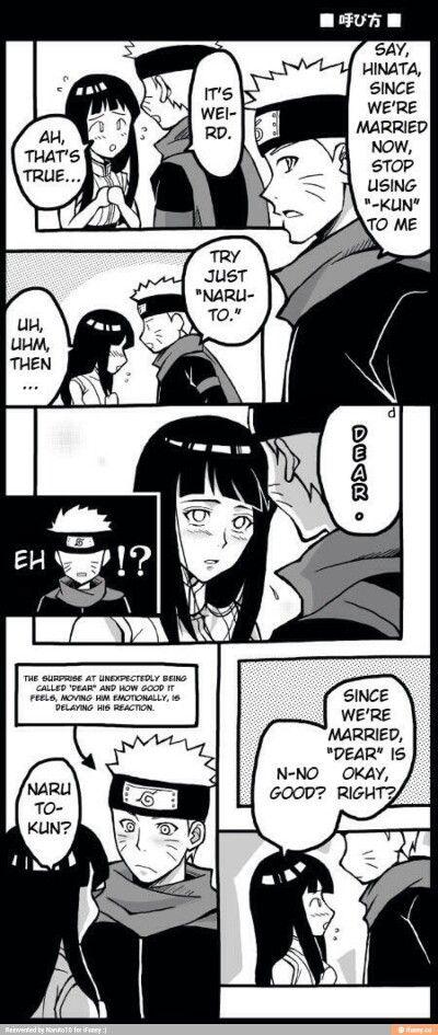 Naruto and hinata comic