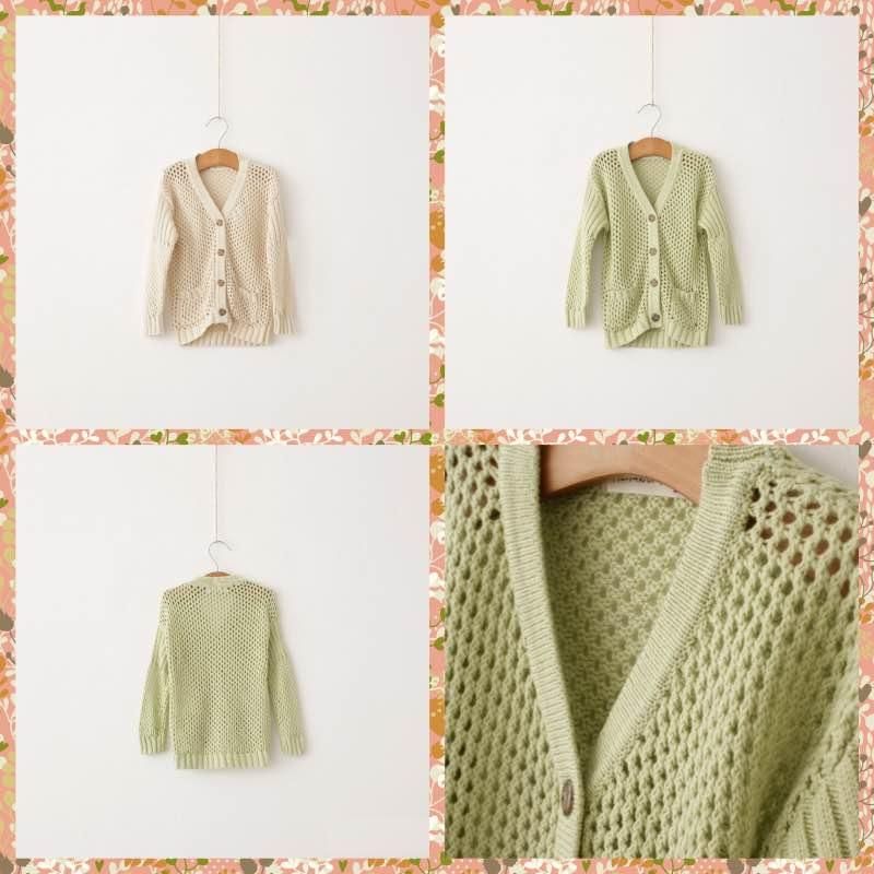 New Arrival Babies Girls Candy Color Hollow Out Cardigans Beige Green Christmas Children Sweaters Princess Fall Winter Casual Jackets From Smartmart, $10.99 | Dhgate.Com