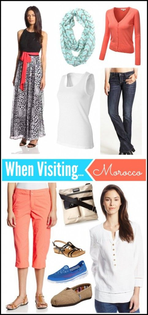 These travel fashion tips might help make your packing an easier experience! What to Pack When Visiting #Morocco: Women