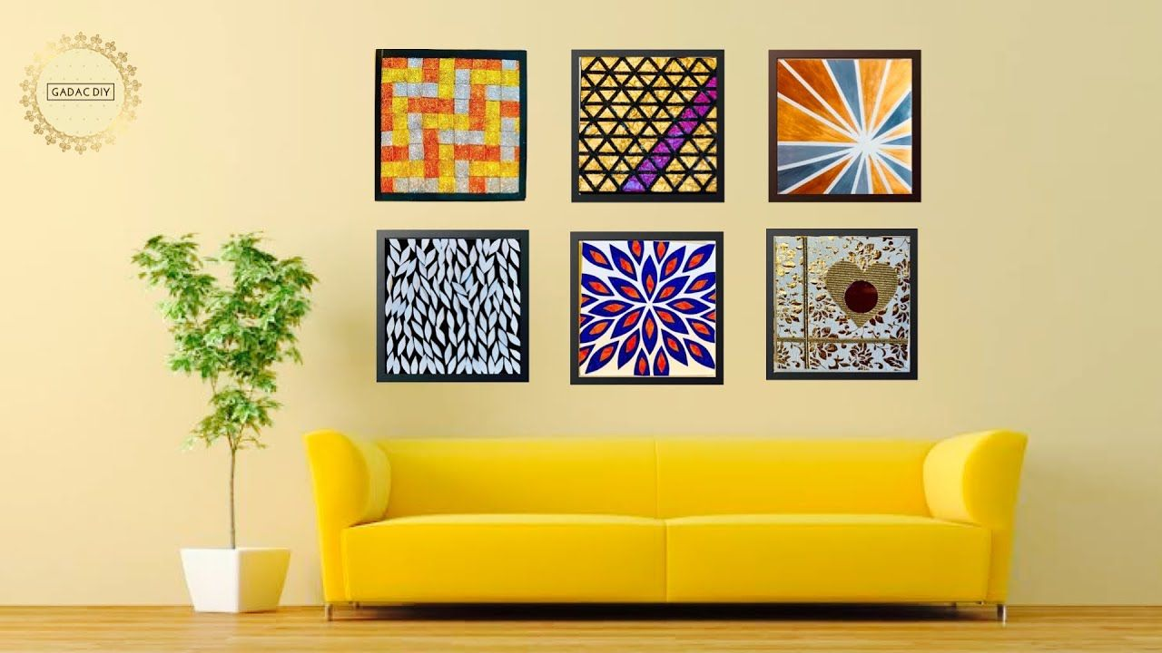 Easy Canvas Painting Ideas Diy Wall Art For Your Living Cute766