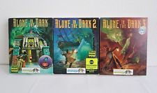 Alone In The Dark Trilogy 1 2 3 Vintage Big Box Pc Games Complete
