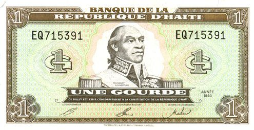 This Is Haiti S Cur Currency In Comparison To The Dollar It 1 Haitian 0022 American Dollars