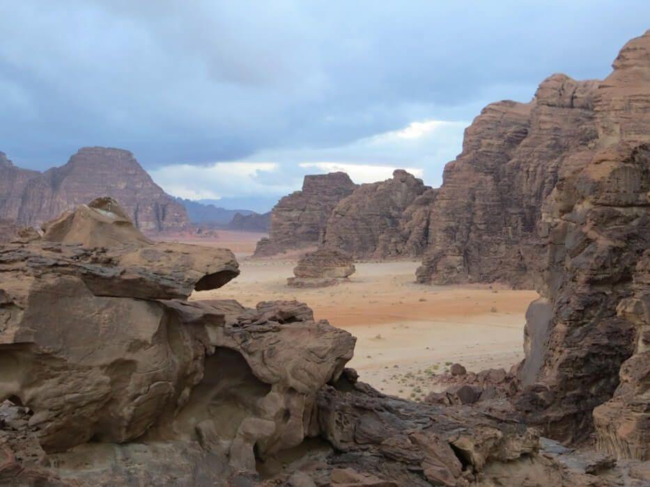 Wadi Rum desert trek #wadirum