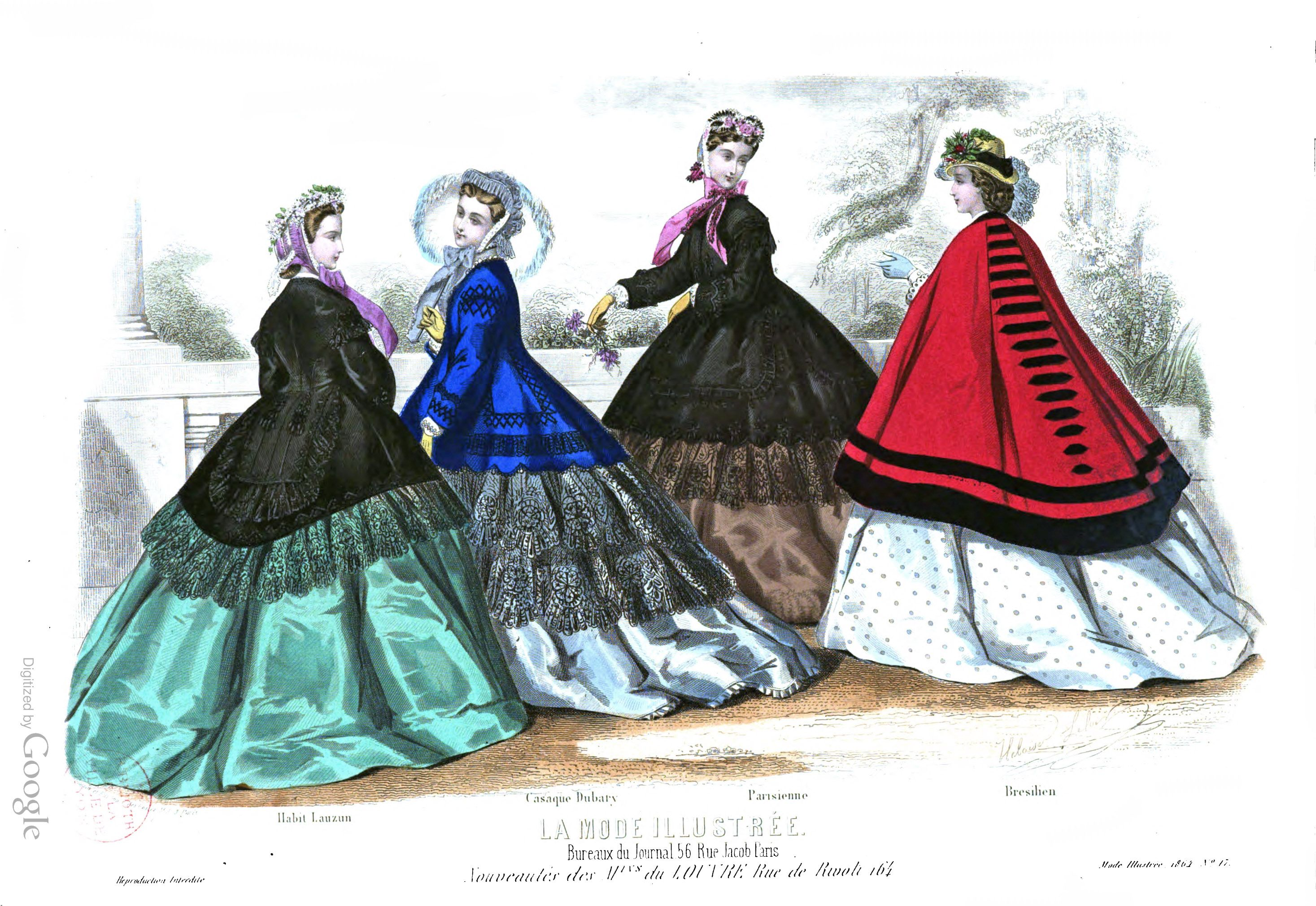 1864 la mode illustrée 174 second rococo pinterest victorian