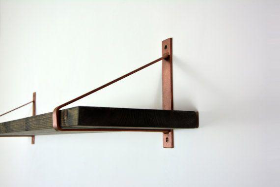 best 25 glass shelf brackets ideas on pinterest glass. Black Bedroom Furniture Sets. Home Design Ideas