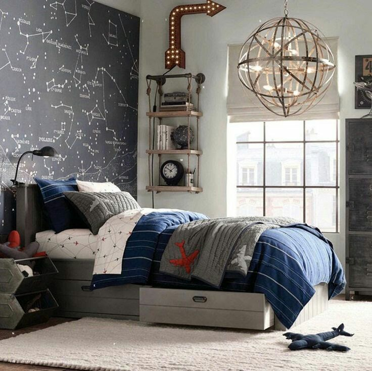 Unique room ideas for little boys and