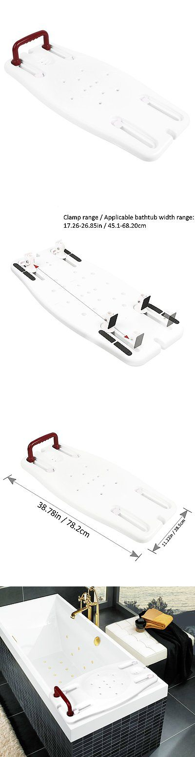 Shower and Bath Seats: Jcmaster Portable Bathtub Shower Bench ...