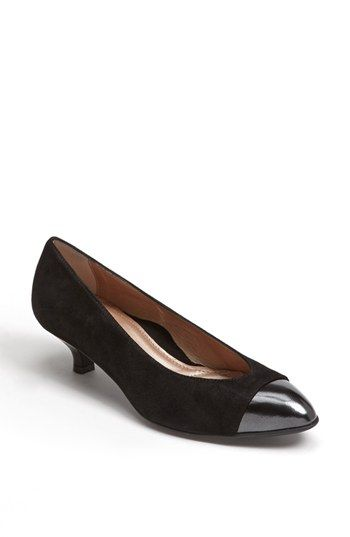 52cad490ef6 Free shipping and returns on BeautiFeel  Alice  Pump at Nordstrom.com.  Polished patent caps the toe of a shimmer-struck suede pump set on a glossy  kitten ...