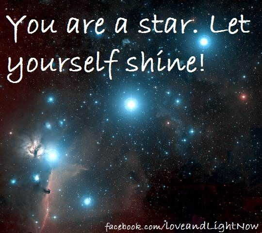 Shine Like The Star You Are!