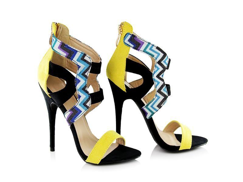 Sandalki Szpilki Zolte Niebieskie Deez24 35 39 5325501380 Oficjalne Archiwum Allegro Shoes Sandals Fashion