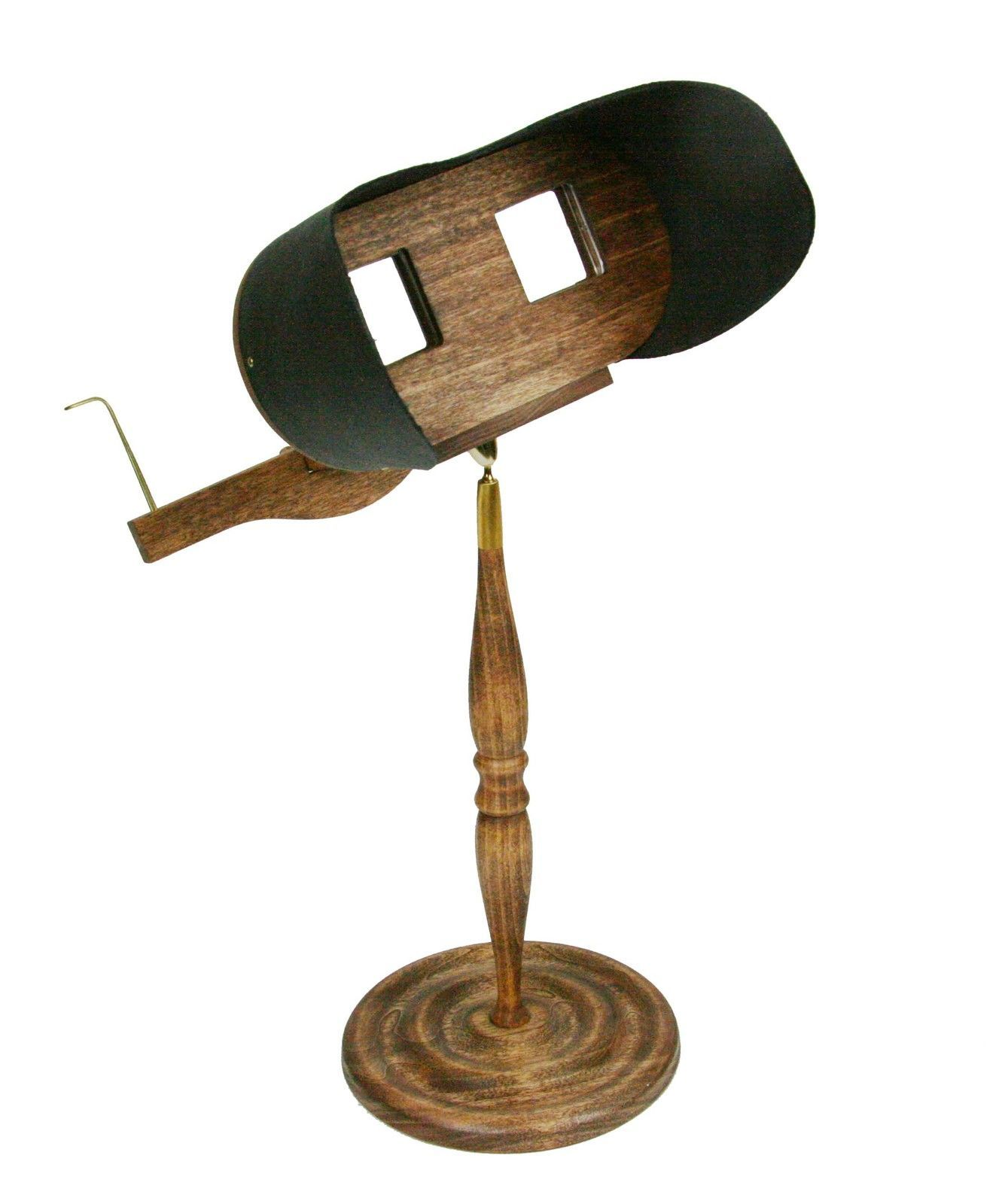 Stereoscope Holmes Viewer With Pedestal Kit For Stereocards And