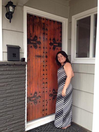 wooden door wrap.jpg  sc 1 st  Pinterest & wooden door wrap.jpg | wood | Pinterest | Front doors Doors and Wraps