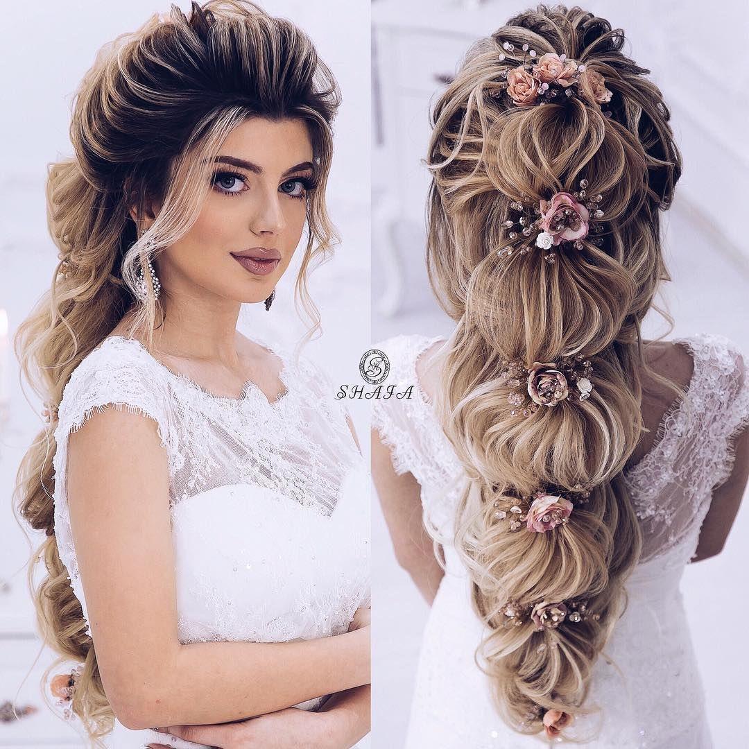 Nagillardaki Shahzadeler Kimi As Princess From Fairytales High Fashion Hair Braided Hairstyles For Wedding Fancy Hairstyles