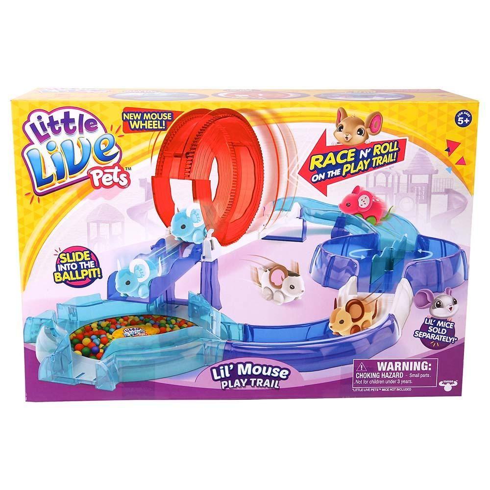 Little Live Pets S2 Lil Mouse House Trail Moose Toys Little Live Pets Pet Mice Christmas Toys