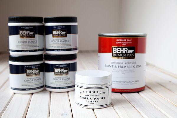 Whipperberry: How to Mix BB Frösch Chalk Paint Powder