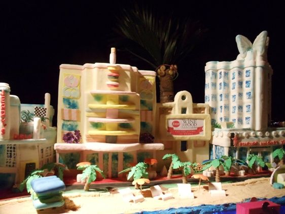 South Beach Miami CakeSeriously Artistic Cakes Cookies