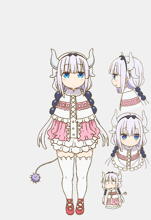 Preview And Character Designs Offer A Look At Miss Kobayashi S Dragon Maid Tv Anime Miss Kobayashi S Dragon Maid Kobayashi San Chi No Maid Dragon Anime Character Design