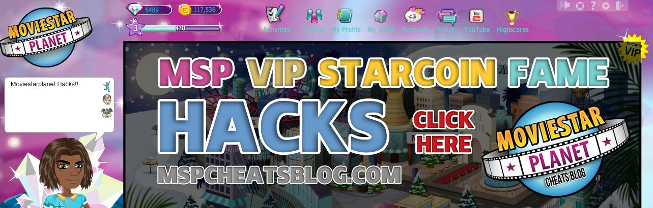 how to get starcoins on msp hack