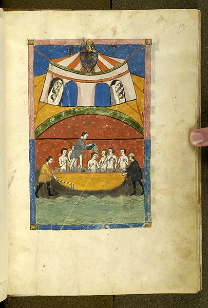 De balneis Puteolanis, MS G.74 fol. 12r - Images from Medieval and Renaissance Manuscripts - The Morgan Library & Museum