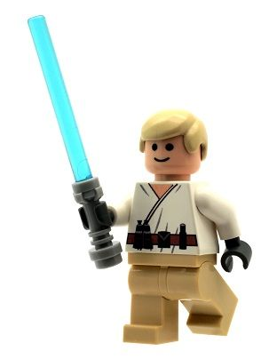 Lego Star Wars Luke Skywalker Lego Minifigures Lego Star Wars