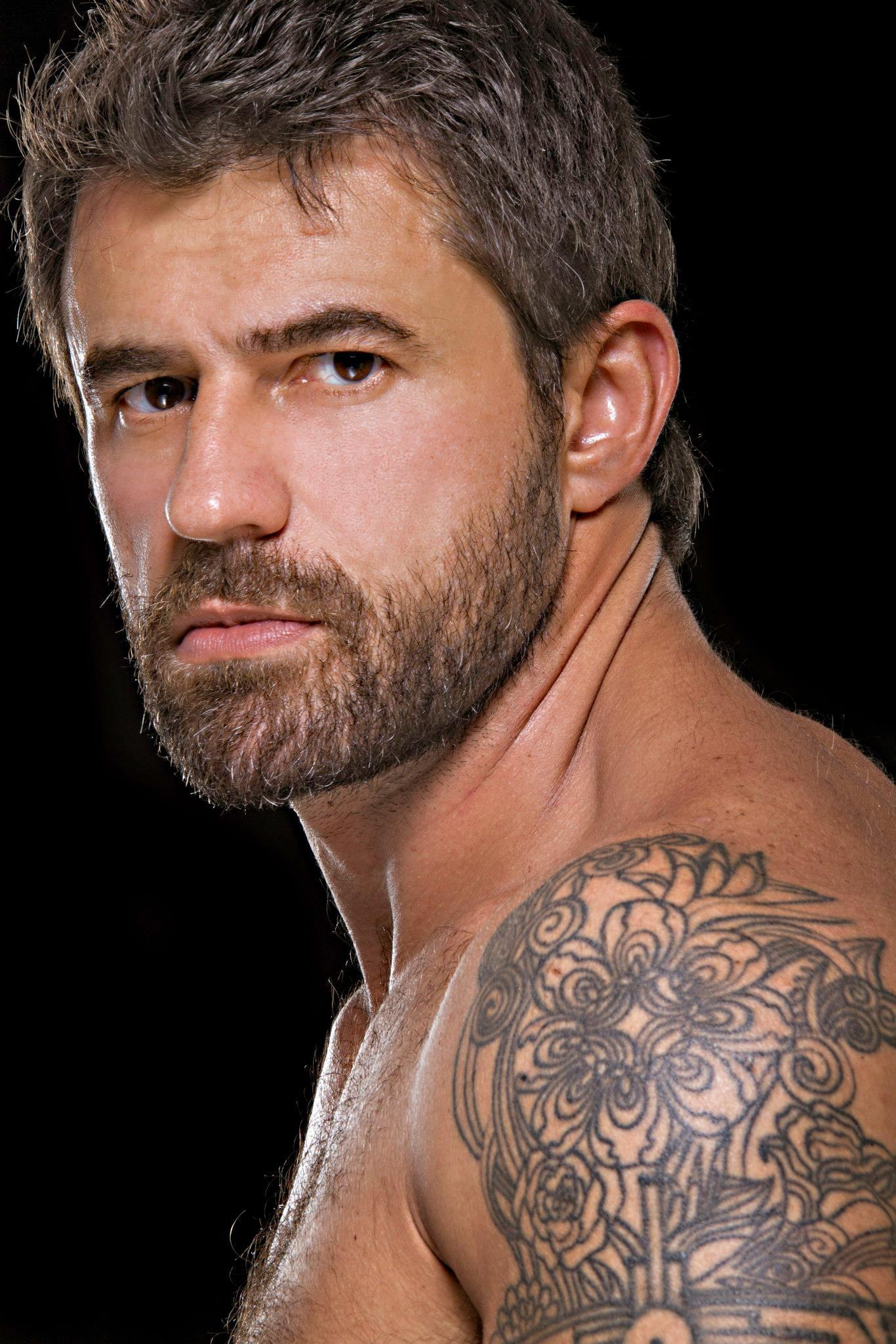 Fabricio Ternes Handsome Men Portraits Hairy Hunks