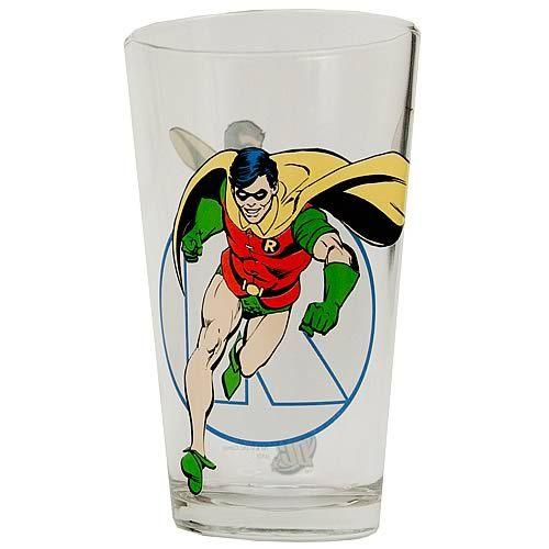 DC Comics Pint Drinking Glass 16 oz Poison Ivy
