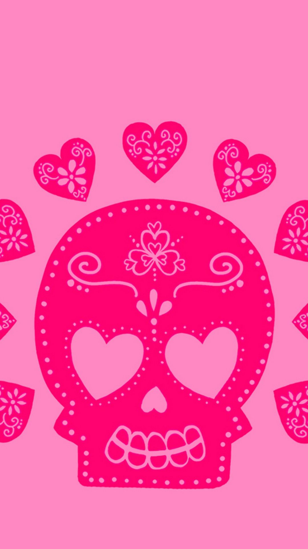 Skull Cute Girly Wallpaper Android Best Hd Wallpapers