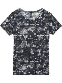 Ropa En De Mujer Rockera Camisetas Camiseta Manga Corta Para 6w8XnEq