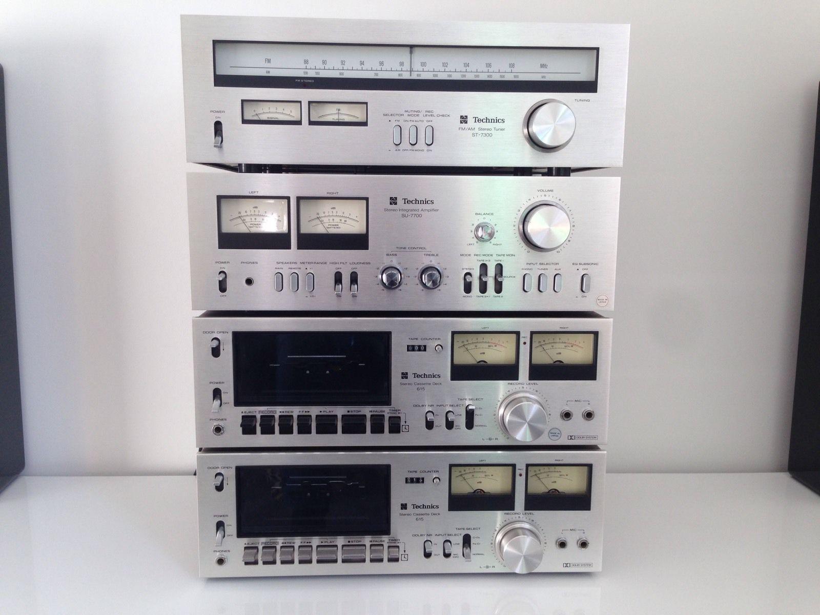 1978 technics hi fi hi fi amps vintage in 2019 audio. Black Bedroom Furniture Sets. Home Design Ideas