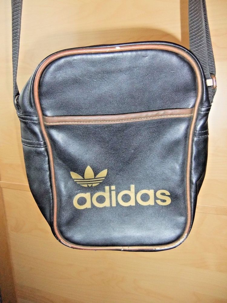 Mens Adidas Black and Gold Cross Over Man Bag  adidas  CrossbodyBag ... daaaca706af4c