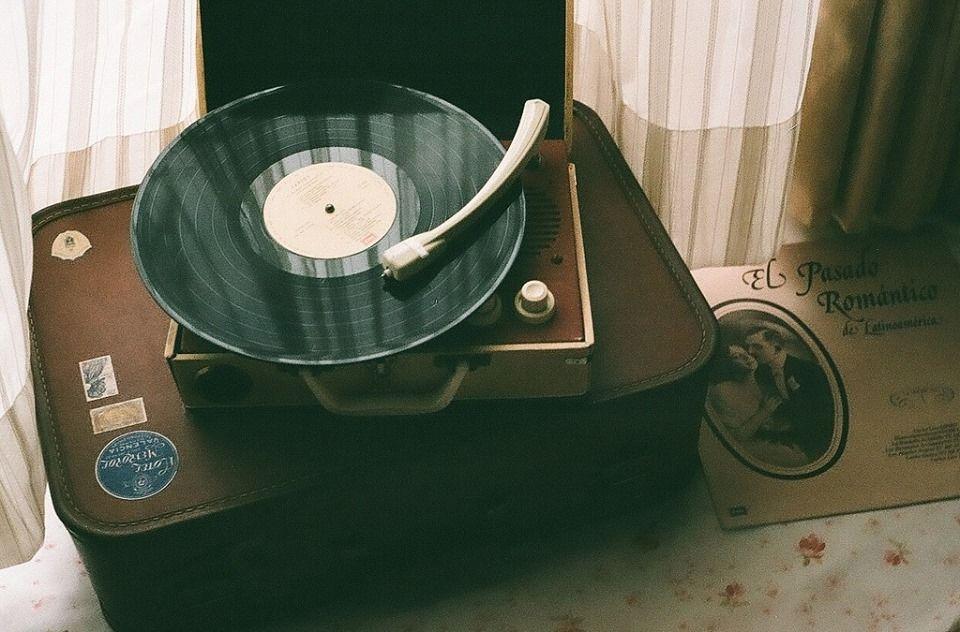 Vintage Disk Player Vintazh Muzyka Raznoe