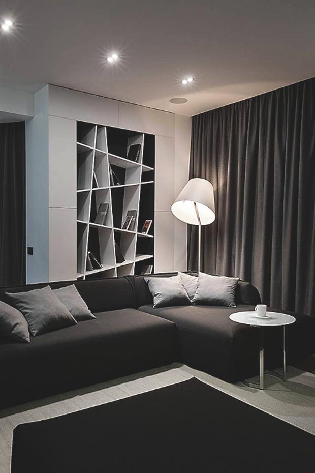 Minimal Interior Design Inspiration 45 Dark living