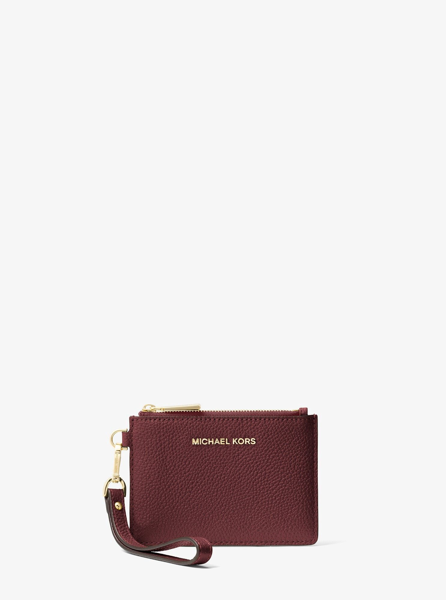 ff00b72eb6af Leather Coin Purse by Michael Kors | Products | Coin Purse, Leather ...