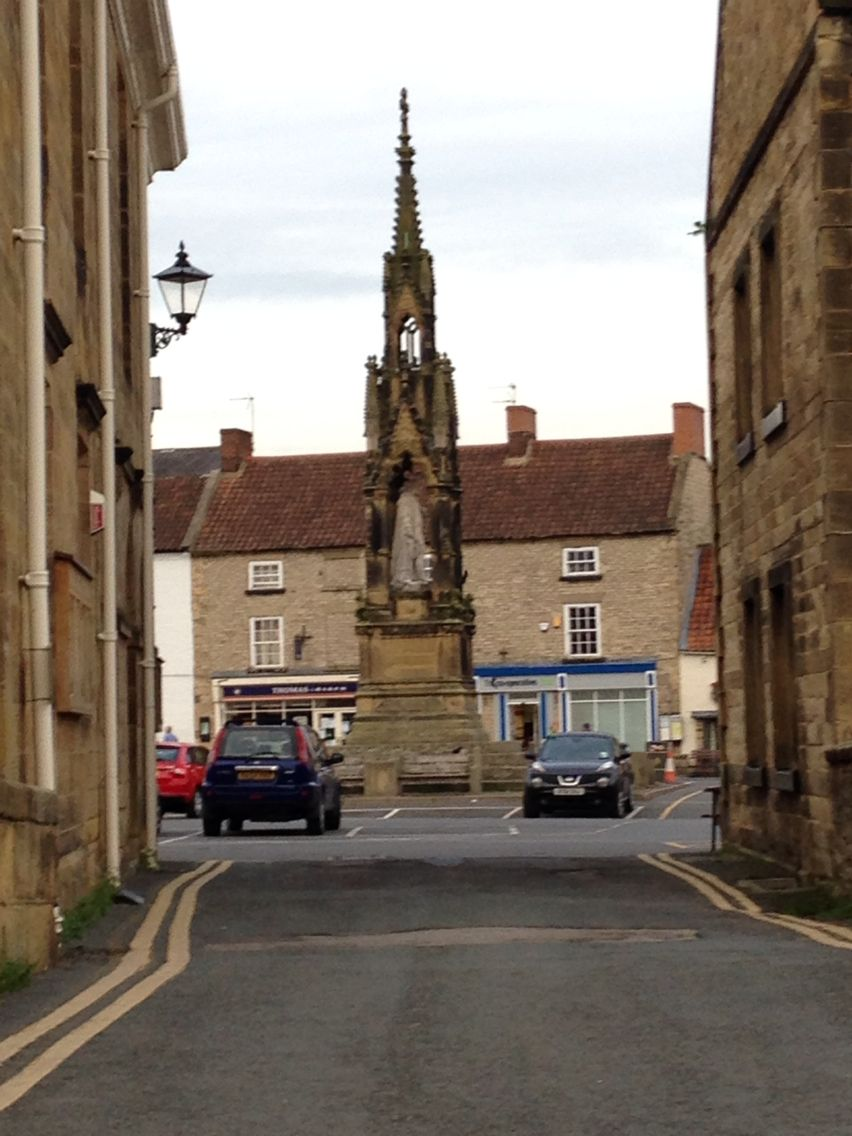 Helmsley Square 2014 with MD.