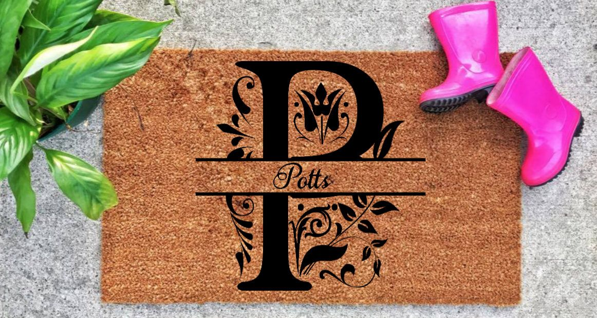 dp fade and door tan all shred mats antibacterial monogrammed weather border mat amazon custom com welcome black infinity with resistant