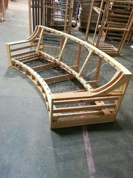 Elegant How To Build A Sofa Frame And Custom Made From Lumber 11