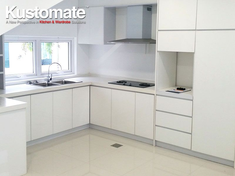 Best White Melamine Kitchen Cabinet Design Build For Dry Amp 640 x 480