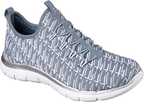 mil Residente Vientre taiko  Skechers Flex Appeal 20 Insights Slate Gray 12765SLT 8 * Be sure to check  out this awesome product. (This … | Womens fashion sneakers, Skechers  women, Slip on shoes