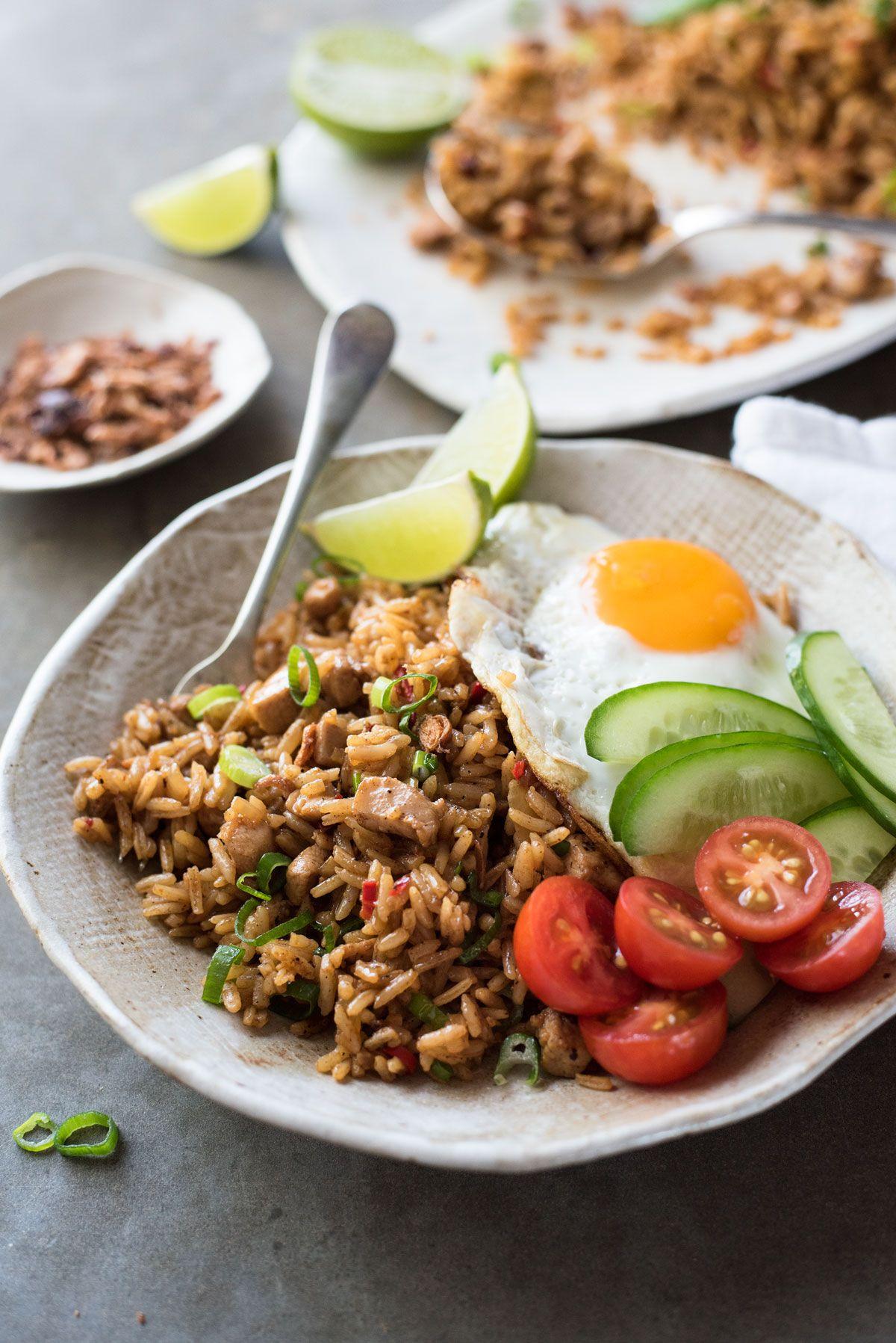 Nasi Goreng Indonesian Fried Rice Recipe Nasi Goreng