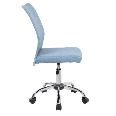 Latest Modern Armless Task Chair Blue Jean Techni Mobili Lovely - Simple Elegant armless office chairs Photo