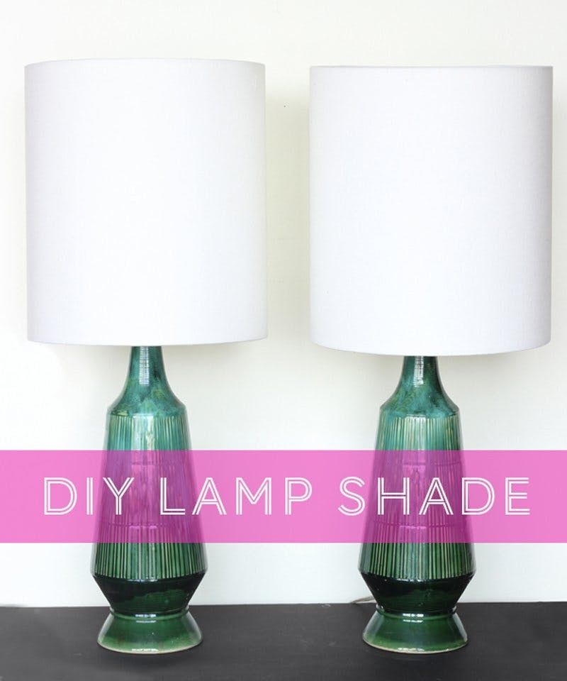 We Tried a DIY Lamp Shade Kit and Here's the End Result